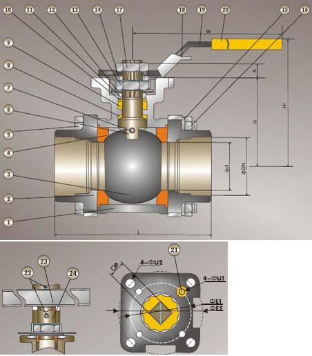 Pc precision casting ball valve sw npt windmill