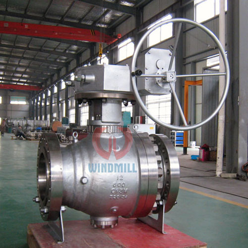 Metal to metal sealed ball valve
