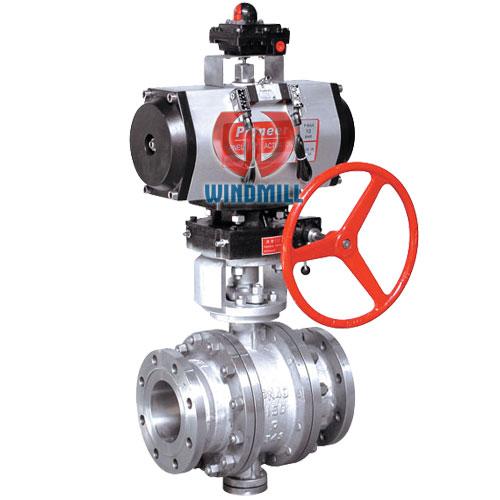 pneumatic ball valve