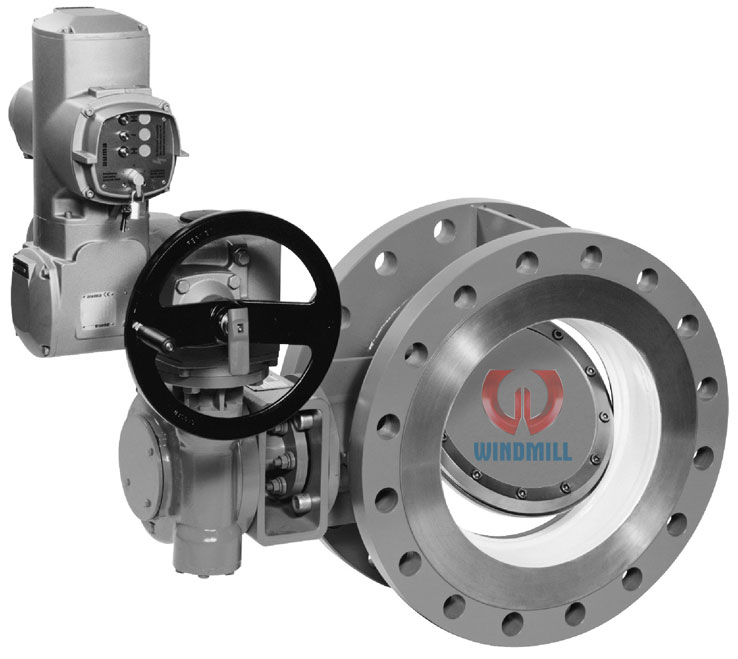 Electric Actuator Butterfly Valve - WINDMILL VALVE